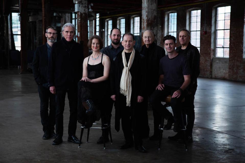 portrait of musical ensemble