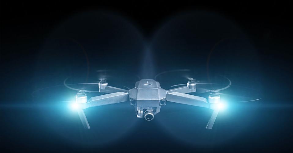 drones, night, camera, lights, aerial, uavs