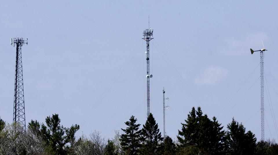 Tall antennas for cell carriers and data providers