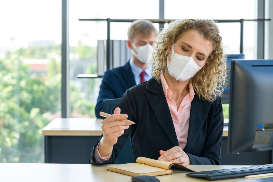 Prevent the transmission of disease by wearing a surgical mask.