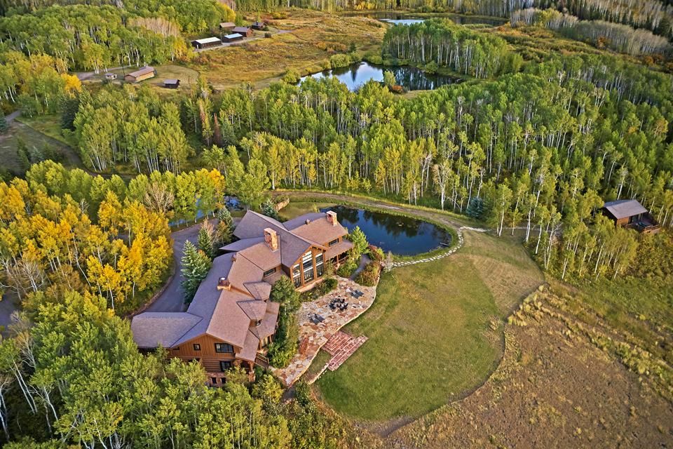 This Colorado ranch has served as a family retreat for the family of golf legend Greg Norman for more than two decades. Located in Meeker, Colorado ranch in the White River Valley, it is listed for $40 million.