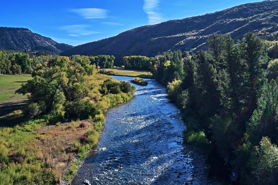 The ranch offers excellent trout fishing as it encompasses nearly two miles of the White River, which is well known as an outstanding trout fishery.