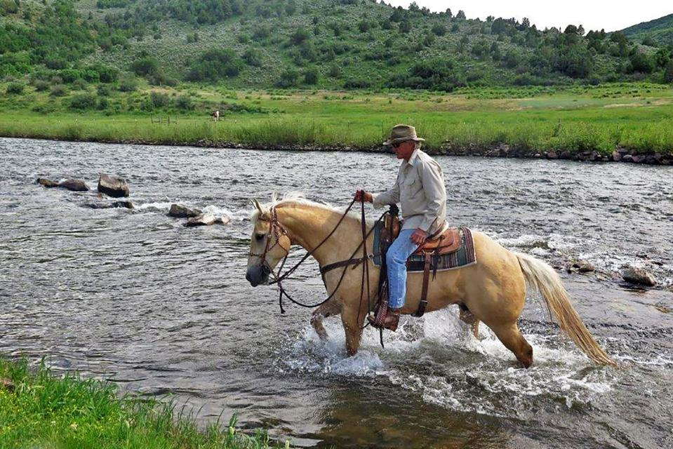 Located in the White River Valley, the ranch is off the beaten path and is far from large scale development seen in other Colorado river valleys.