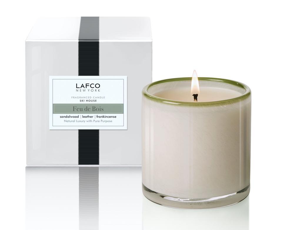 Lafco Ski House (Feu de Bois) luxury candle delirium