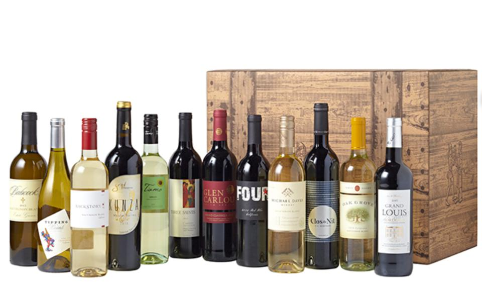 Wine of the Month Club bottles