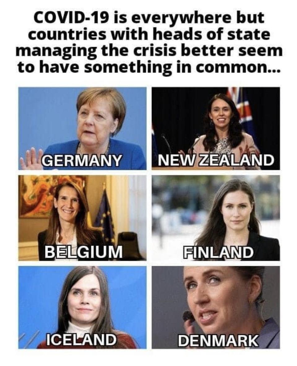 Women Leaders meme