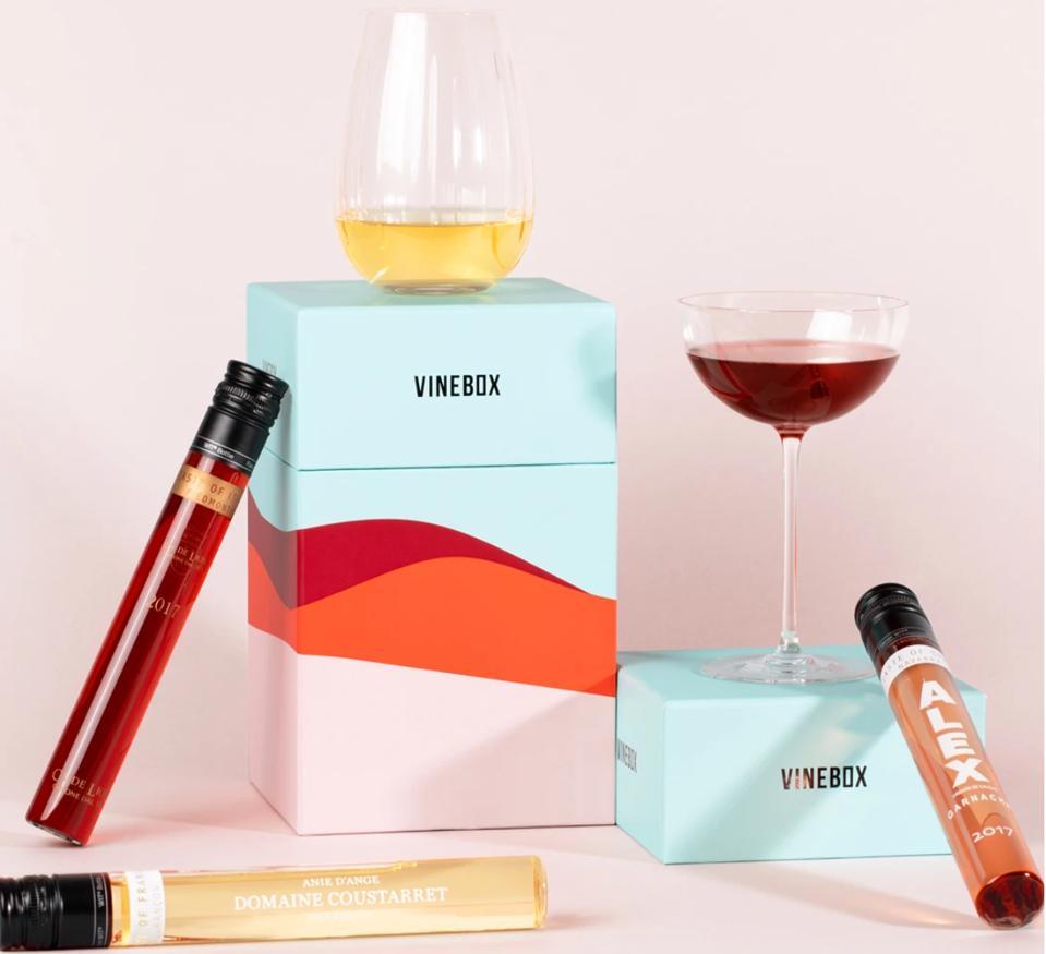 Vinebox wine vials