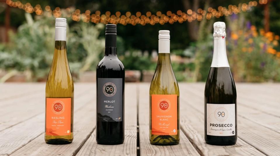 Ninety Plus Cellars wines