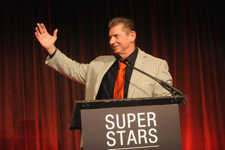 WWE boss Vince McMahon
