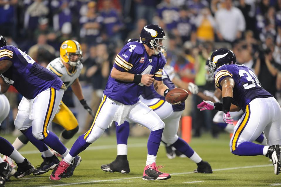 Brett Favre, Green Bay Packers, Minnesota Vikings, ESPN, Monday Night Football