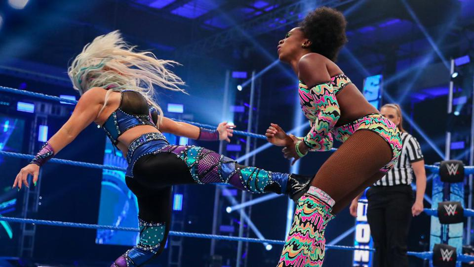 Dana Brooke Naomi Friday Night SmackDown results May 15