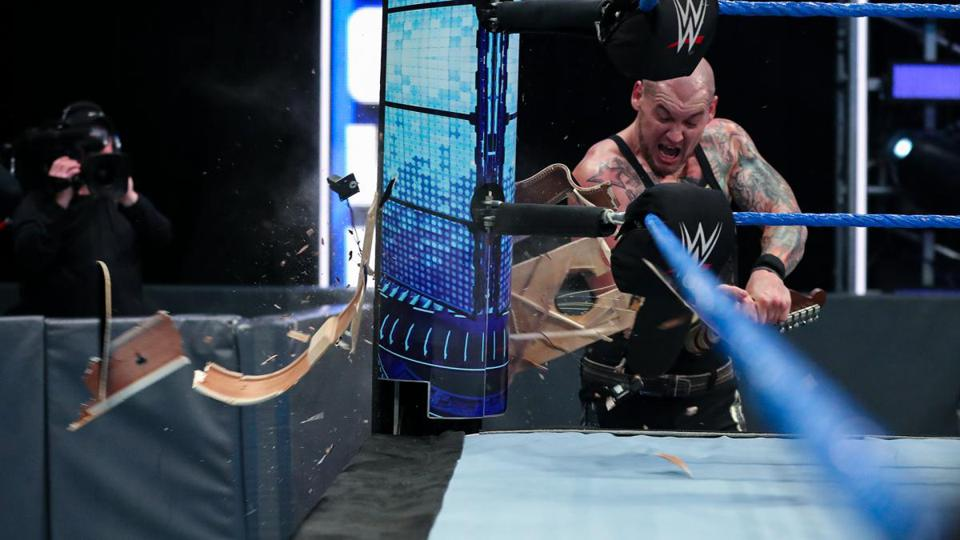 Baron Corbin Guitar Friday Night SmackDown