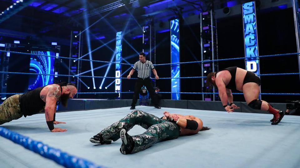 Caterpillar Braun Strowman Otis Friday Night SmackDown May 15 Results