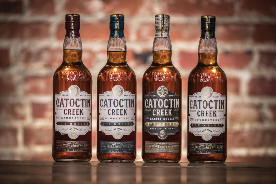 Catoctin Creek bottle line-up