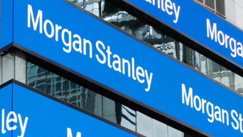 Headquarters building of Morgan Stanley in New York.