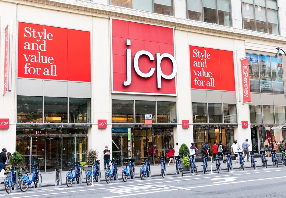 JCPenney store in Manhattan.