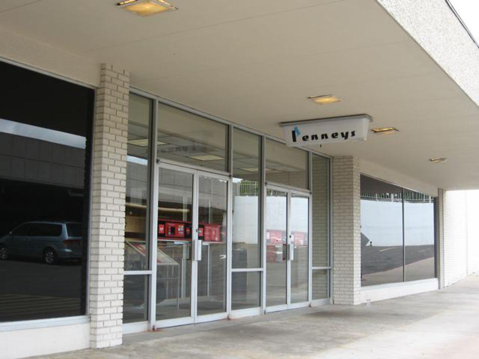 The JCPenney store at the University Mall in Little Rock, Arkansas.