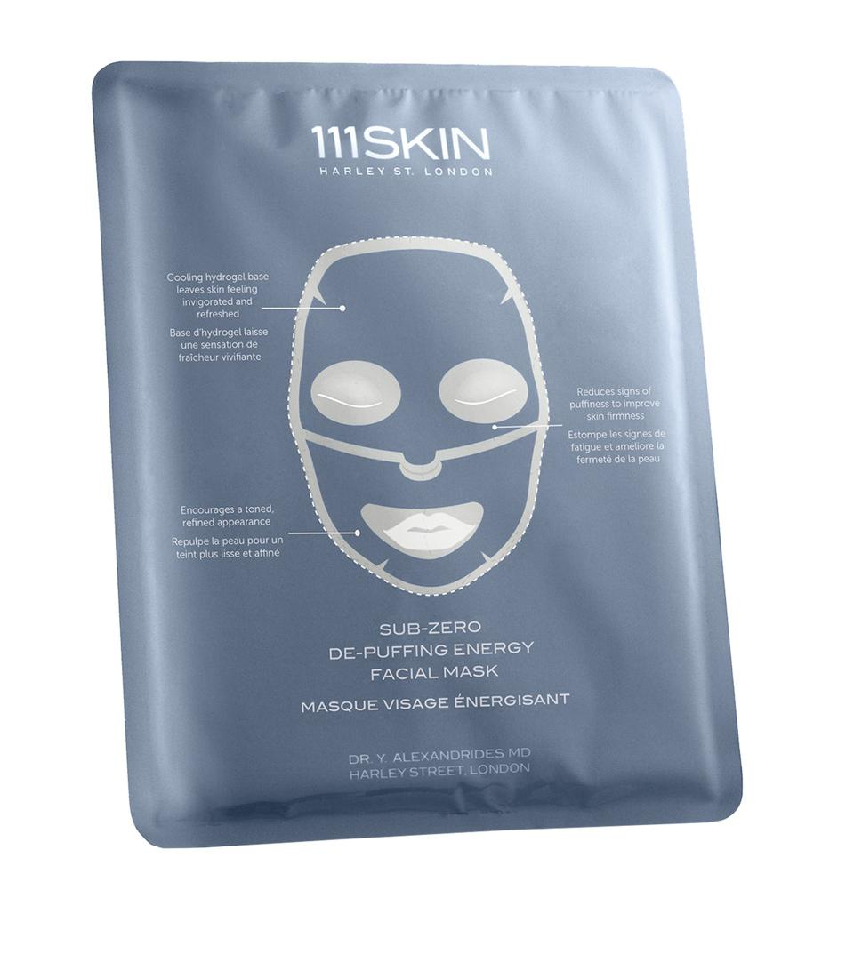 Sub-Zero De-Puffing Energy Masks (Pack of 5)