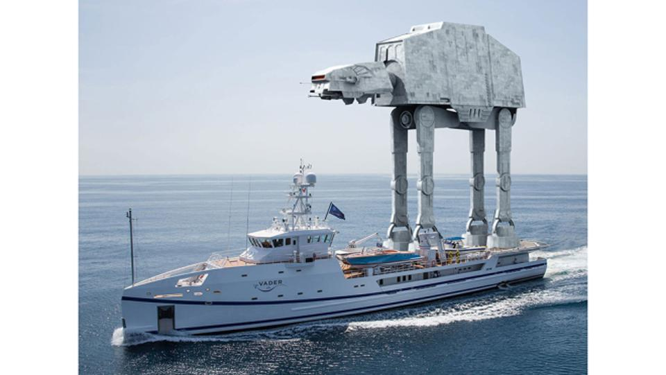 London-based Thirtyc Studios were one of many yacht designers who celebrated May The Fourth with Star Wars Superyacht designs.