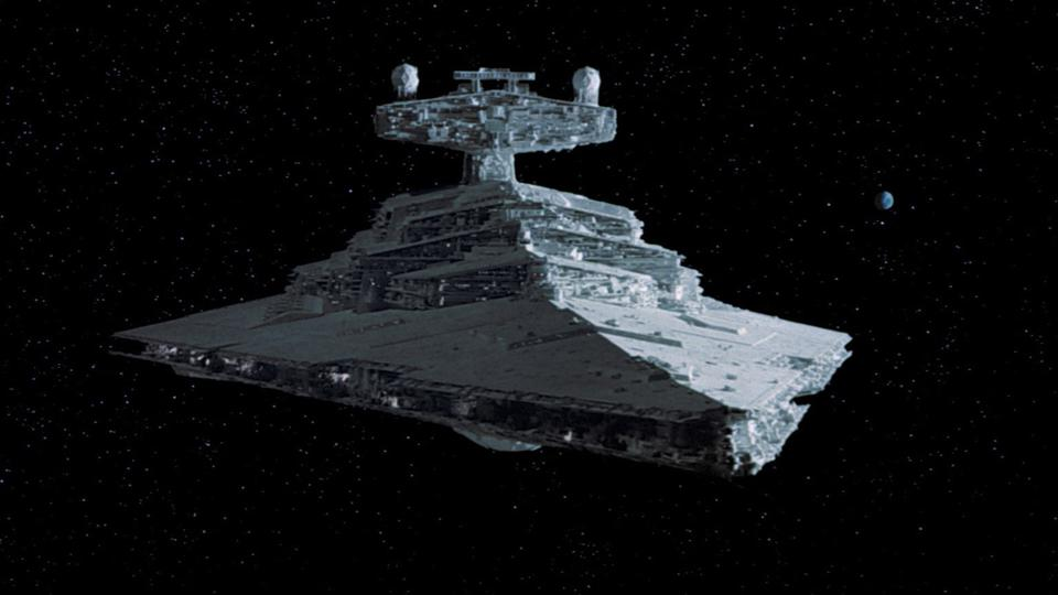An imperial star destroyer is the ultimate superyacht of the future!