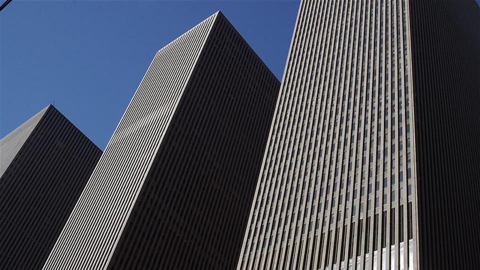 Av. of the Americas in NYC