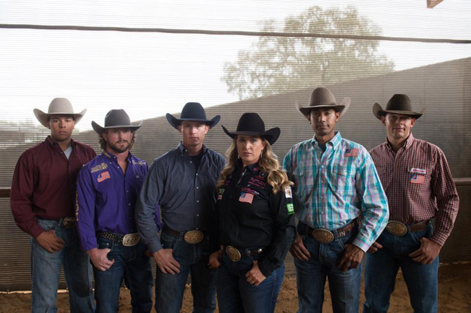 American Hat Company professional rodeo athletes.