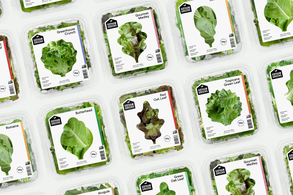 Gotham Greens has developed a line of salad dressings and food sauces.