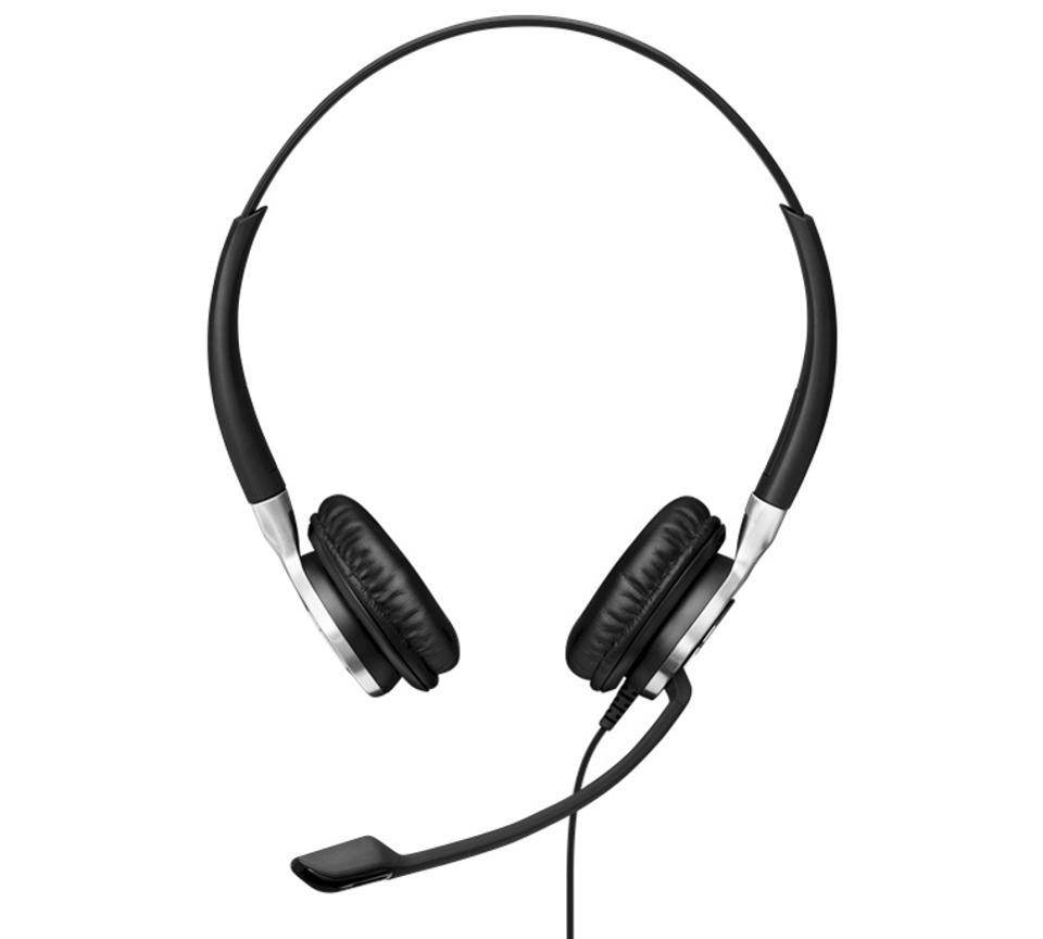 Front view of the EPOS impact SC 665 USB headset