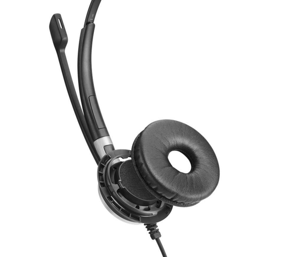 Exploded view of the EPOS Impact SC 665 USB headset