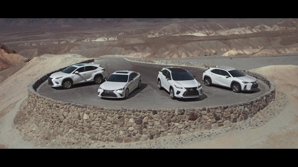 Lexus's new TV ad.