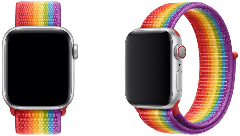 Apple Watch Pride Edition Sport Loop 2019
