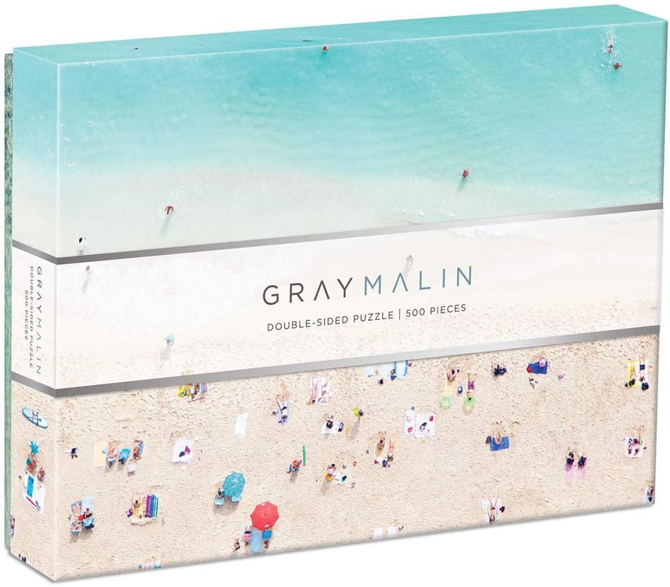 Gray Malin Hawaii Beach Two-Sided Puzzle