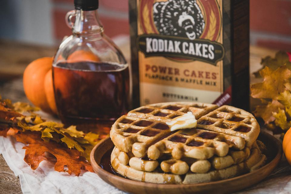 Kodiak Cakes Buttermilk Power Cakes Pancakes Breakfast Brunch Healthy Maple Syrup Protein