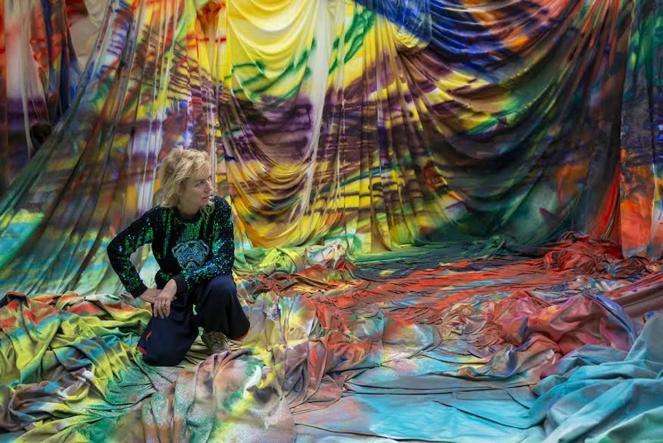 Mitro Hood, The Baltimore Museum of Art. Artwork © Katharina Grosse and VG Bild-Kunst, Bonn, 2020