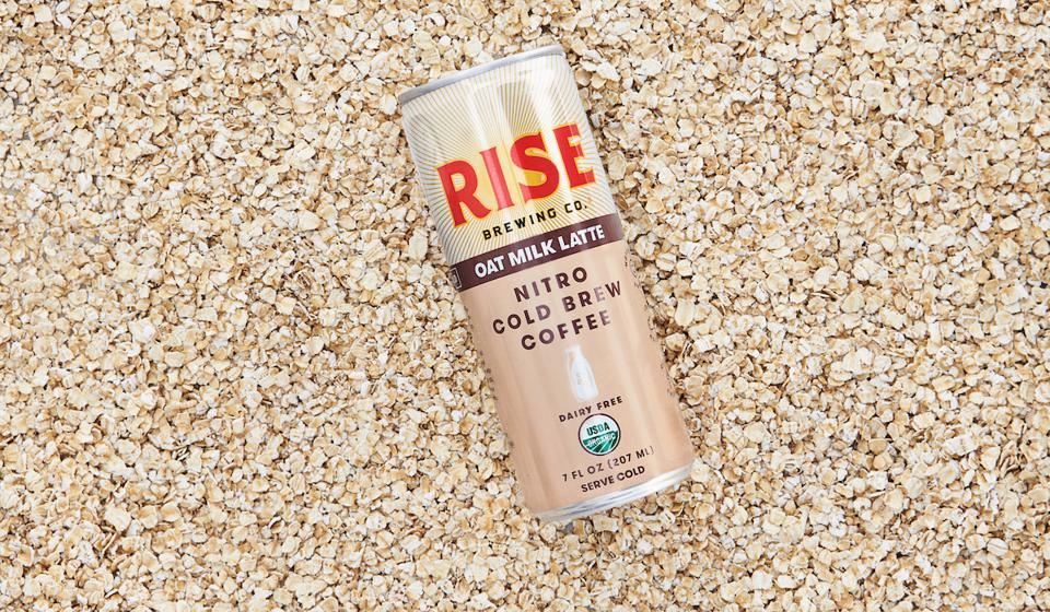 Rise Brewing Co Oat Milk Latte Breakfast Healthy Dairy Free Iced Coffee Nitro Cold Brew