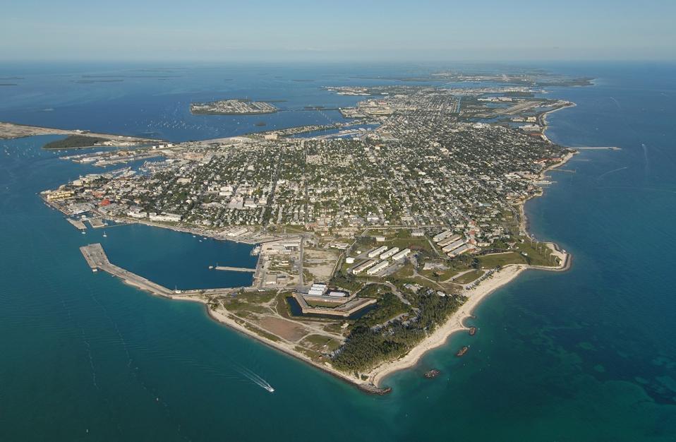 Key West aerial photo