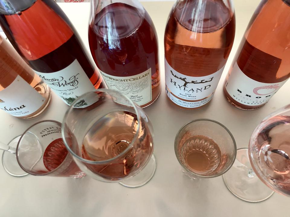 Willamette Valley roses made from Pinot Noir grapes.