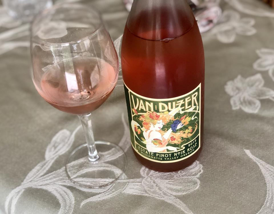 Van Duzer in Oregon's Willamette Valley makes a Pinot Noir Rose.