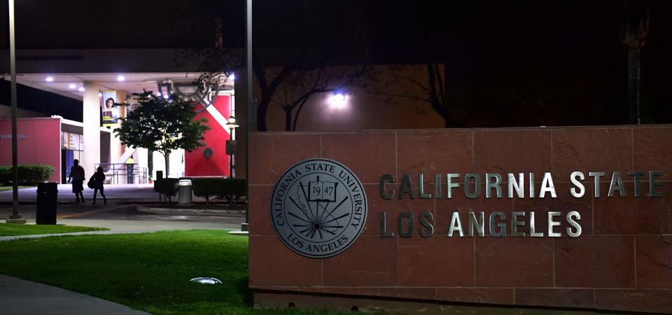 This is a photo of the California State Los Angeles university campus.