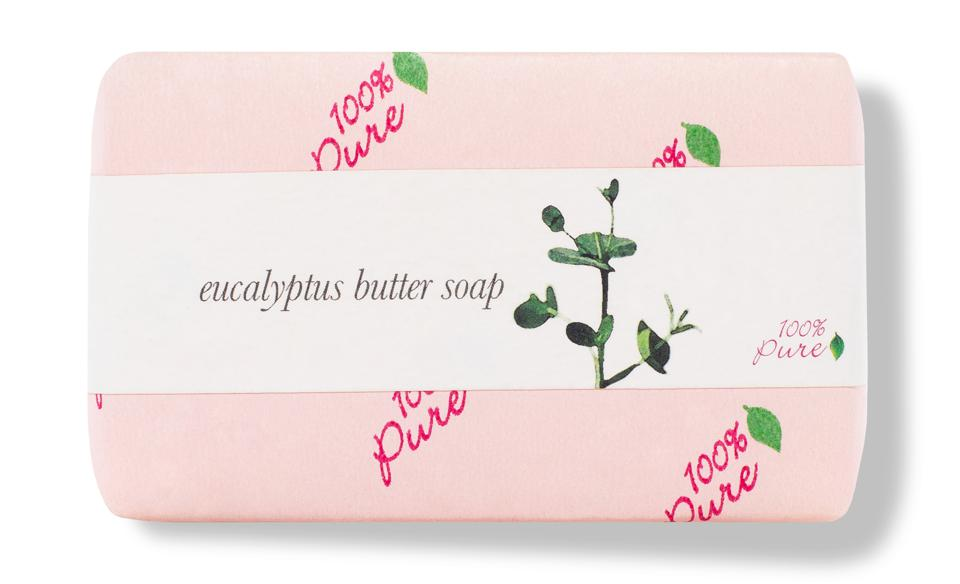 bar soap with pretty packaging