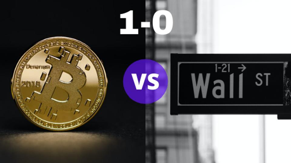 Bitcoin Vs. Stocks