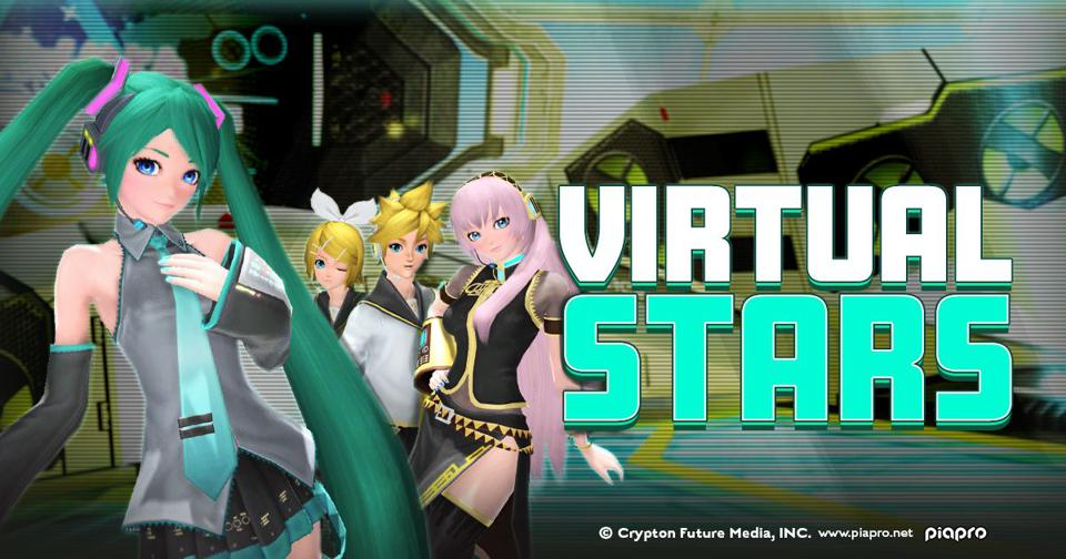 Hatsune Miku-themed clothing and accessories for Phantasy Star Online 2!