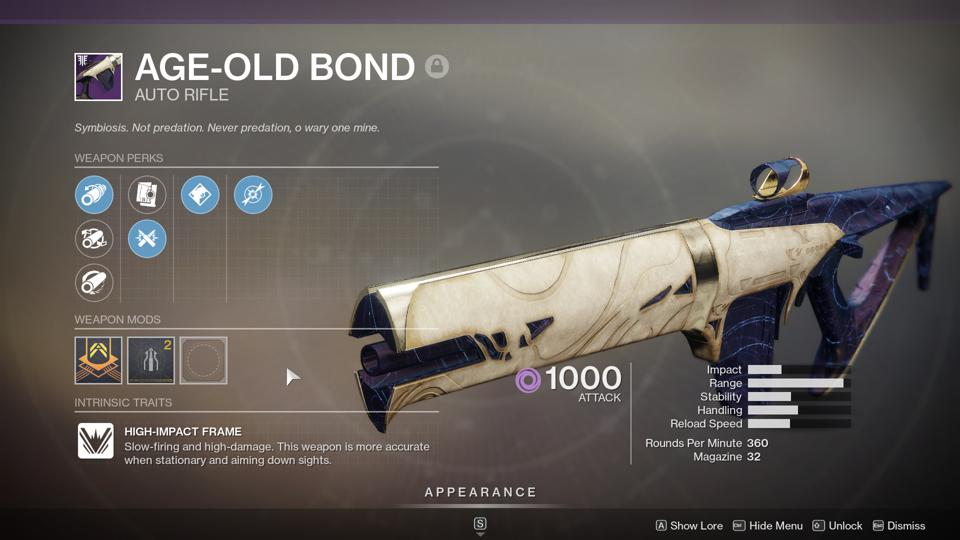 There Are Just 60 Current 'Viable' Destiny 2 Legendary Weapons For Sunsetting, Raising Questions