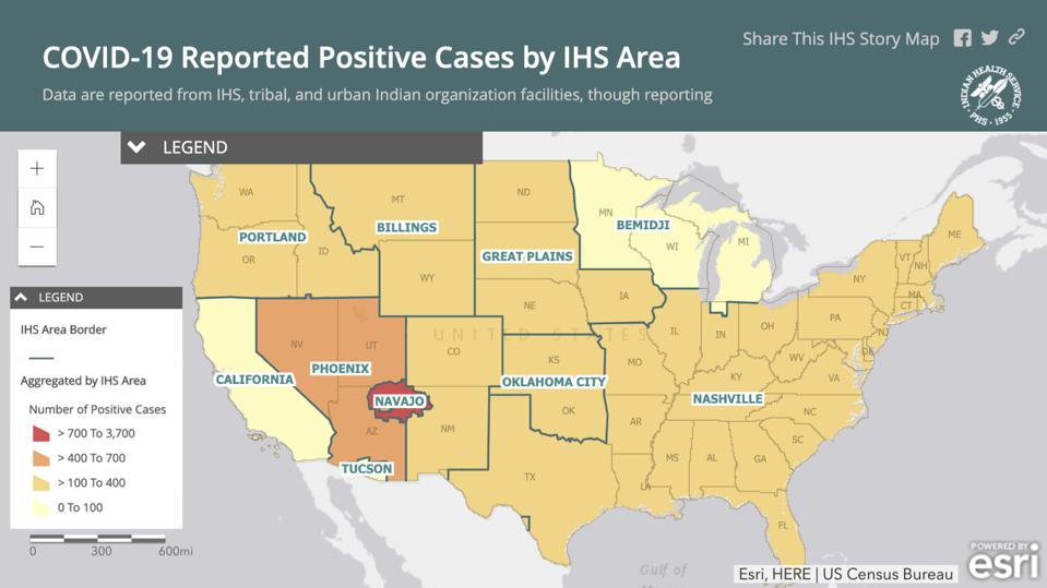 Navajo Nation now has the highest per capita rate of COVID-19 infection in the US.