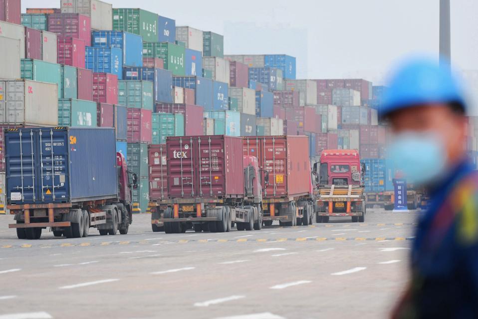 Qingdao Port Foreign Trade Container Terminal