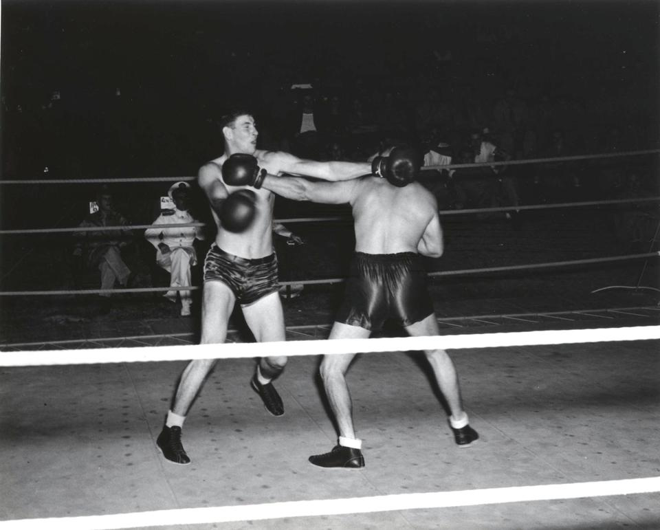 Marine Corps Boxers, USMC Air Station, St. Thomas, Virgin Islands, ca. 1942