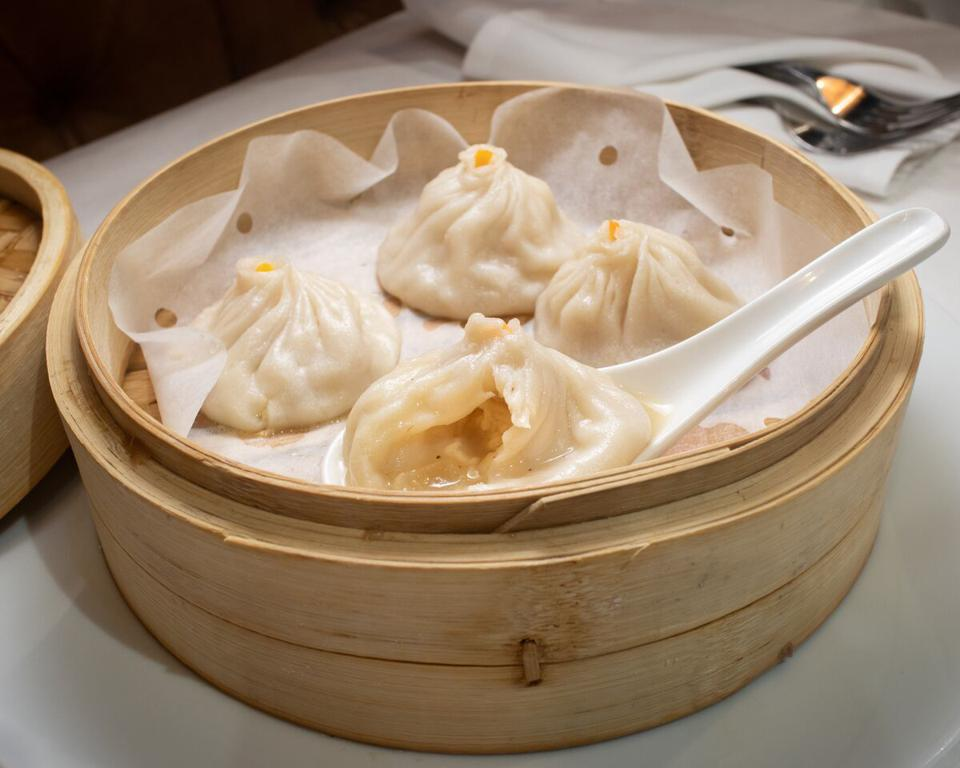 Brooklyn Dumpling Shop, New York restaurants, Stratis Morfogen