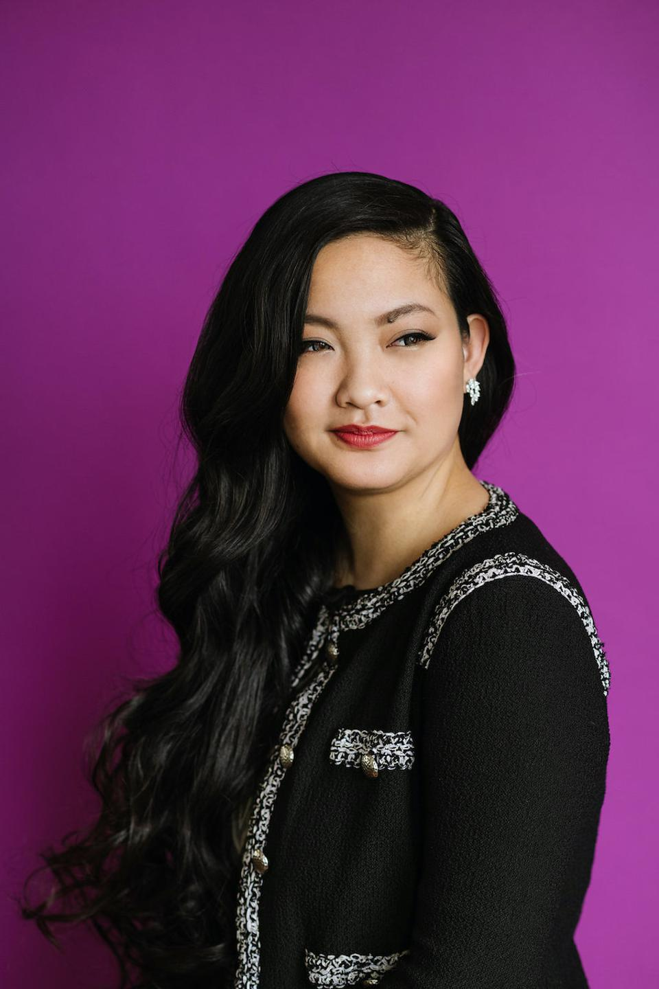 Portrait of Amanda Nguyen, CEO/Founder of Rise, Cooking and Coping, Forbes