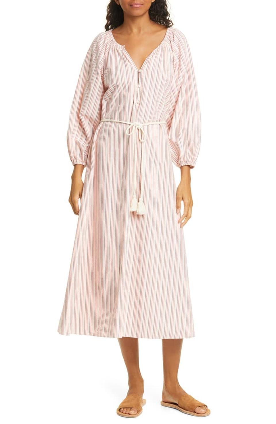 The Derby Stripe Dress