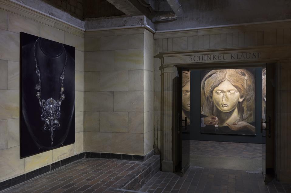 2019, Installation view, Claude Mirrors, Schinkel Pavillon, Berlin
